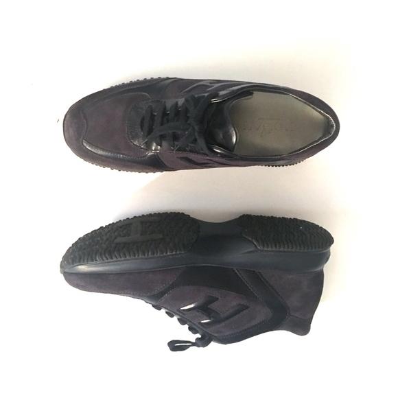 fee1357538 Hogan Shoes | Black Italian Sneakers Interactive Mens 8 | Poshmark